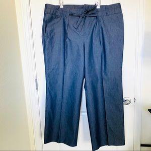 Liz Claiborne Tie Waisted Trouser Pants